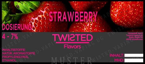 Twisted - Strawberry Aroma 10ml