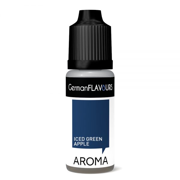 GermanFLAVOURS - Iced Green Apple Aroma 10ml