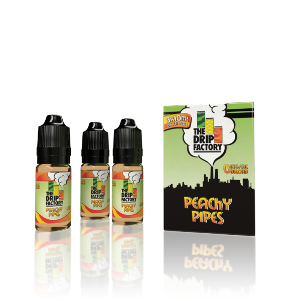 The Drip Factory Peachy Pipes 3x10ml