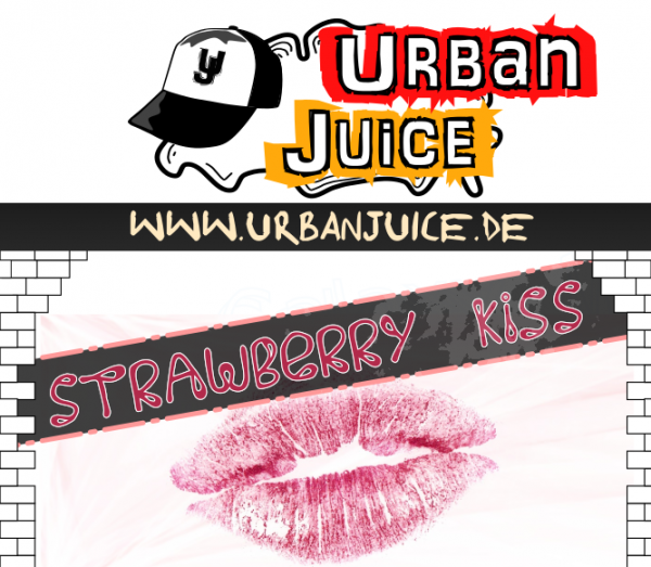 Urban Juice - Strawberry Kiss E-Liquid 10ml
