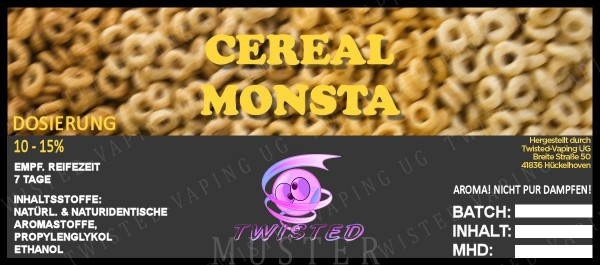 Twisted - Cereal Monsta Aroma 10ml