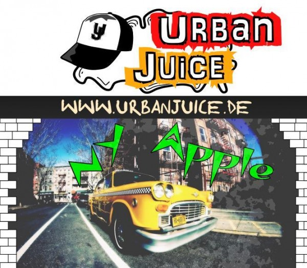 Urban Juice - NY Apple E-Liquid 10ml