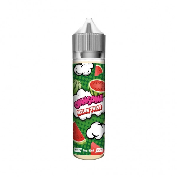 Ohmsome Melon Twist 50ml Shortfill 0mg