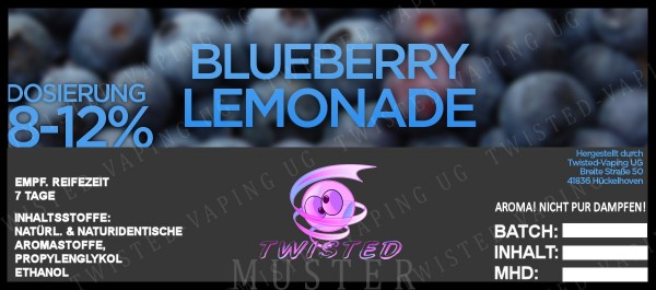 Twisted - Blueberry Lemonade Aroma 10ml