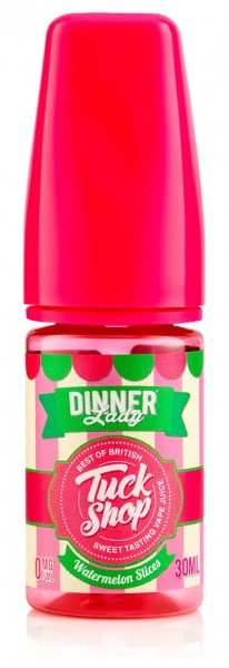 Dinner Lady Tuck Shop - Watermelon Slices 25ml 0mg