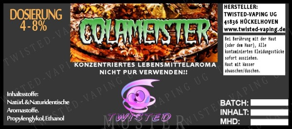 Twisted - Colameister Aroma 10ml