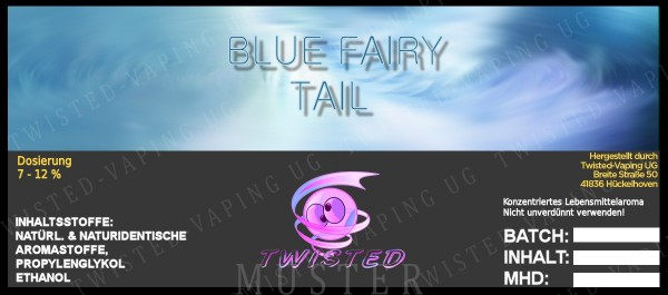 Twisted - Blue Fairy Tail Aroma 10ml