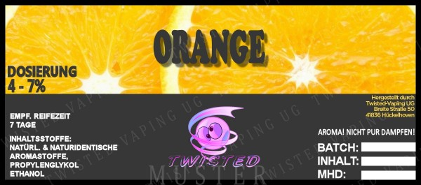 Twisted - Orange Aroma 10ml
