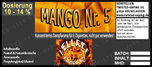 Twisted Hellride - Mango No.5 10ml