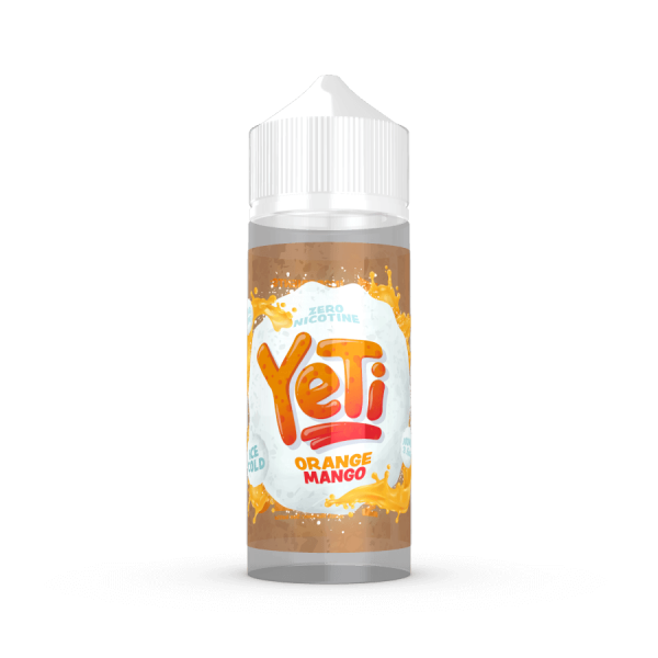 Yeti Orange Mango 100ml Shortfill