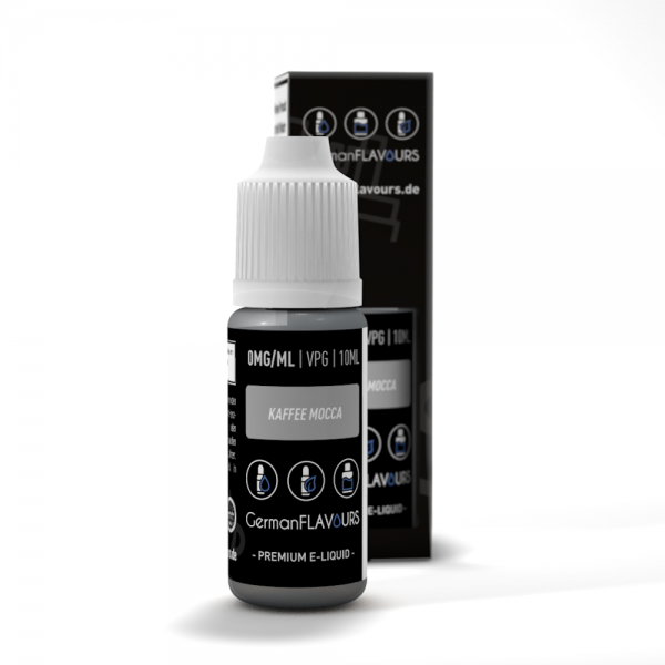 GermanFLAVOURS - Kaffee Mocca Liquid 10ml