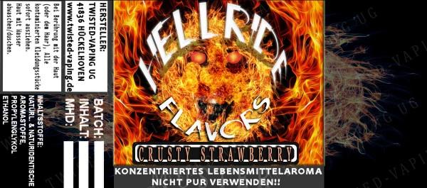 Twisted Hellride - Crusty Strawberry 10ml