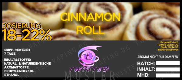 Twisted - Cinnamon Roll Aroma 10ml