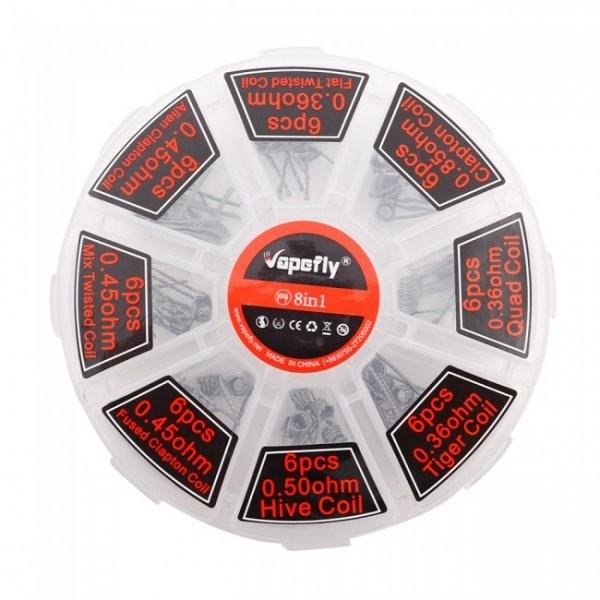 Vapefly - Selbstwickler Coil Box 48 Fertigwicklungen