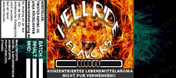 Twisted Hellride - Killbay 10ml