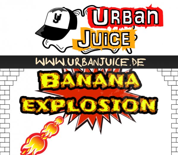 Urban Juice - Banana Explosion E-Liquid 10ml