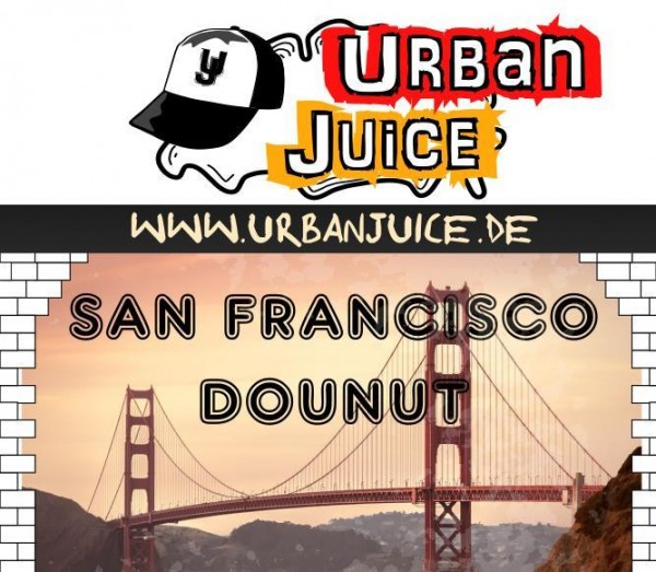 Urban Juice - San Francisco Donut E-Liquid 10ml