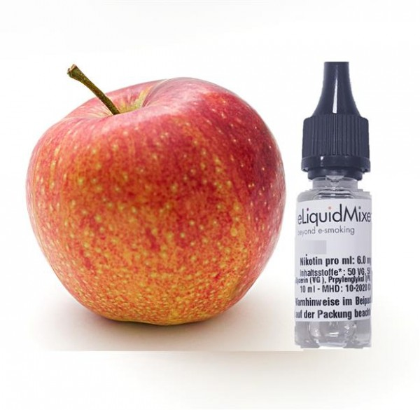 eLiquid Mixer Feines eLiquid Apfel Liquid 10ml