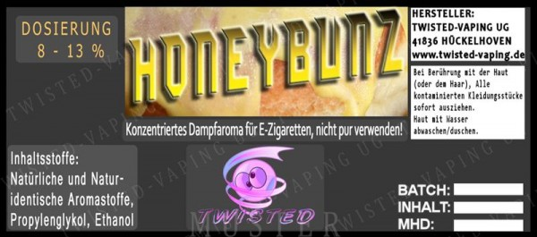 Twisted - Honey Bunz Aroma 10ml