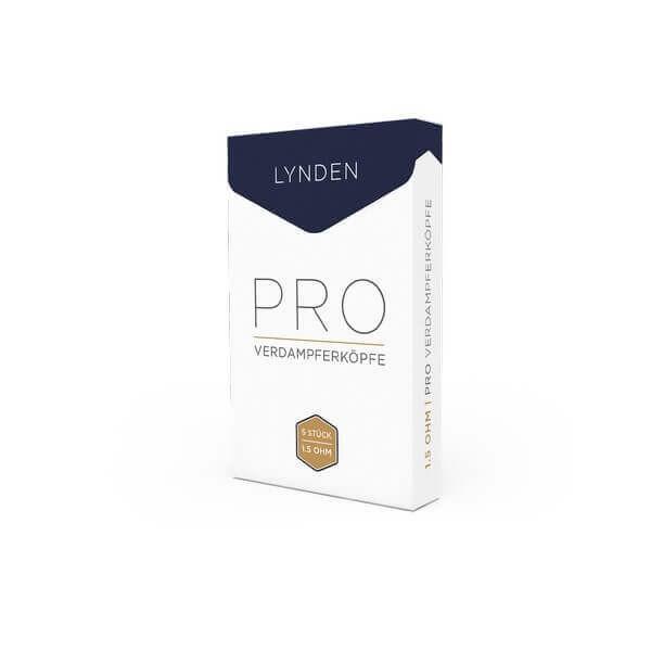 Lynden - Pro Ersatzverdampferköpfe 5er Pack