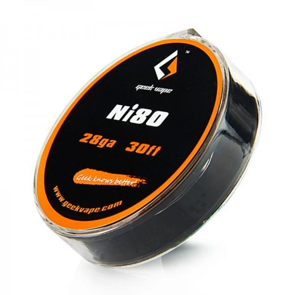 GeekVape - Ni80 Tape Wire (28GA) 10 Meter (30ft)