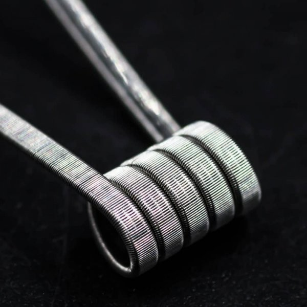 Jolly Wire - 3 Core Parallel NI80 0,2 Ohm Fused Clapton Coils 26*3/40G Handwrapped 2er Pack