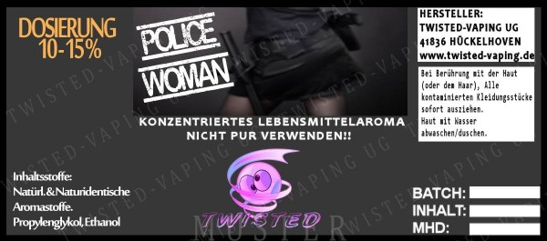 Twisted - Police Woman Aroma 10ml