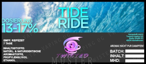 Twisted - Tide Ride Aroma 10ml