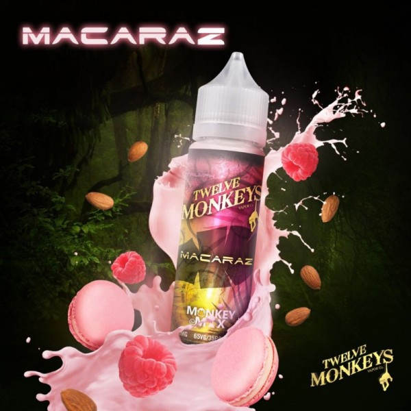 Twelve Monkeys - MacaRaz 50ml 0mg (DIY Shortfill)