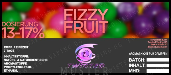 Twisted - Fizzy Fruit Aroma 10ml