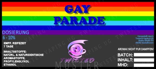 Twisted - Gay Parade Aroma 10ml