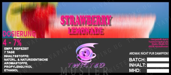 Twisted - Strawberry Lemonade Aroma 10ml