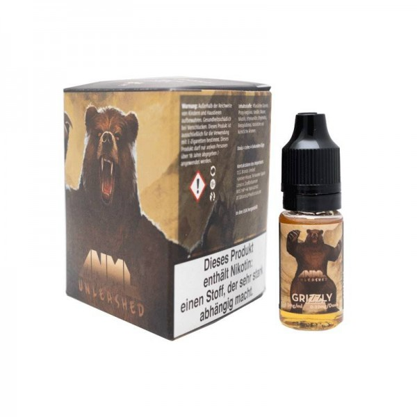 ANML Unleashed - Grizzly Liquid 6x10ml Multipack