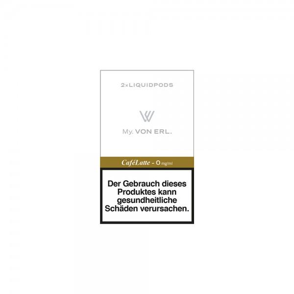 VON ERL. - My. Liquidpods My. CaféLatte. (2er Pack)