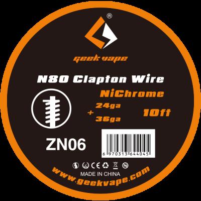 Geekvape - Ni80 Clapton Wire Draht