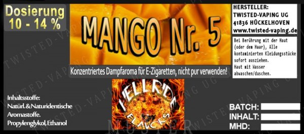 Twisted Hellride - Mango No.5 10ml
