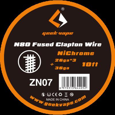 Geekvape - Ni80 Fused Clapton Wire Draht