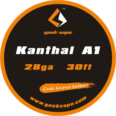 GeekVape - Kanthal A1 Tape Wire (28GA) 10 Meter (30ft)