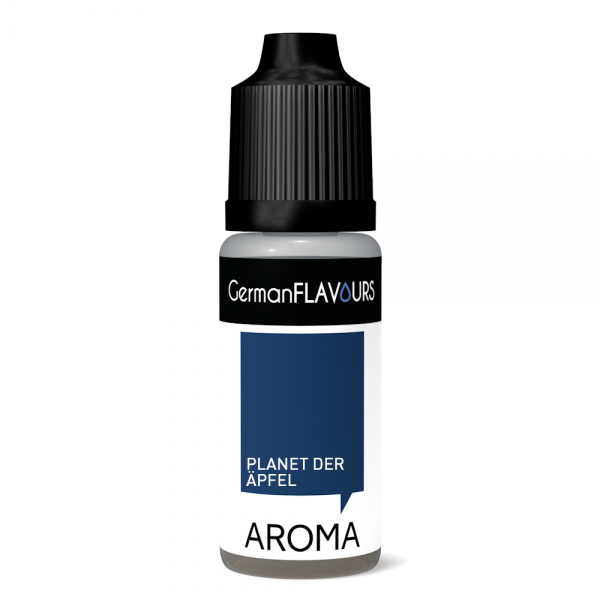 "GermanFLAVOURS - Planet der Ã""pfel Aroma 10ml"