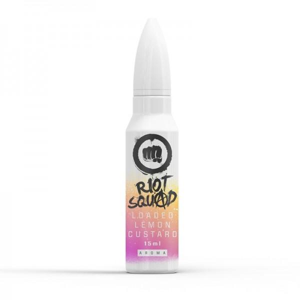 Riot Squad Shots Loaded Lemon Custard 15ml Shake & Vape Aroma