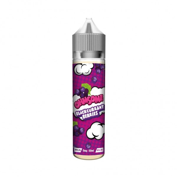 Ohmsome Blackcurrant Berries 50ml Shortfill 0mg