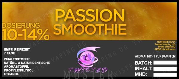 Twisted - Passion Smoothie Aroma 10ml