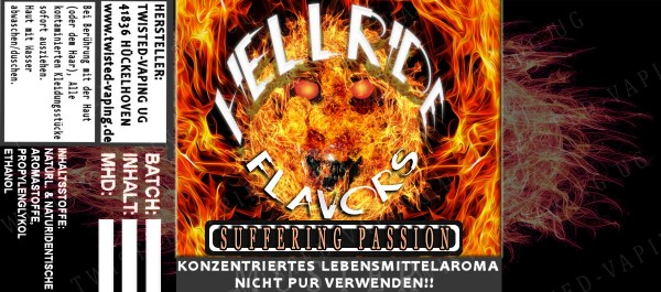 Twisted Hellride - Suffering Passion 10ml