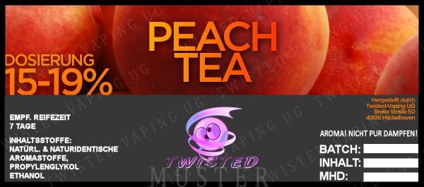 Twisted - Peach Tea Aroma 10ml
