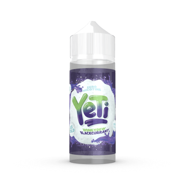Yeti Honeydew-Blackcurrant 100ml Shortfill