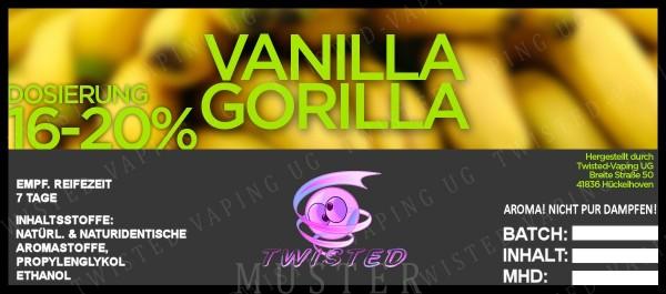Twisted - Vanilla Gorilla Aroma 10ml