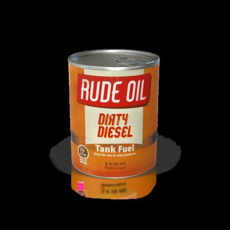 Rude Oil - Dirty Diesel Multipack 3x10ml