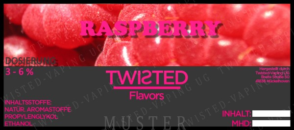 Twisted - Raspberry Aroma 10ml