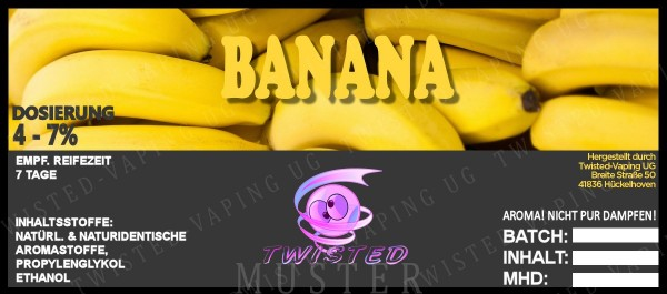 Twisted - Banana Aroma 10ml