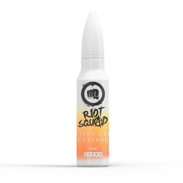 Riot Squad Shots Fifty Cal Custard 15ml Shake & Vape Aroma